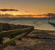Morcombe Bay Sunset by Jon OConnell
