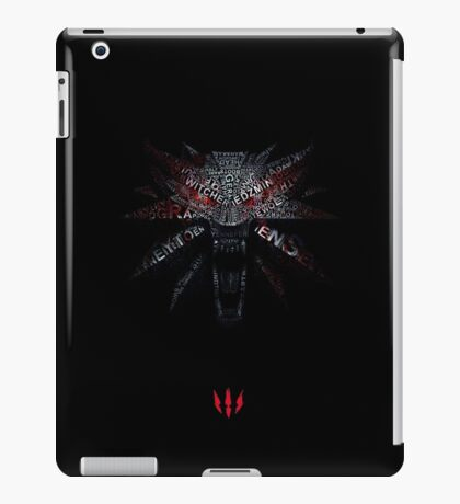 The Witcher III iPad Case/Skin