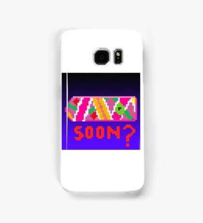 Back To The Future Hoverboard 8-Bit Samsung Galaxy Case/Skin