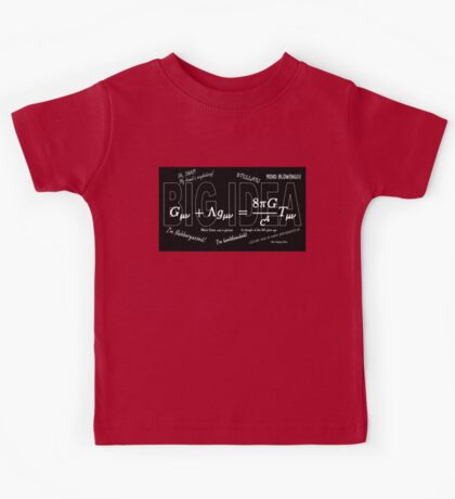 BIG IDEA 3 (with comments) Kids Tee