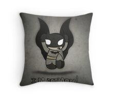 i'm batman Throw Pillow
