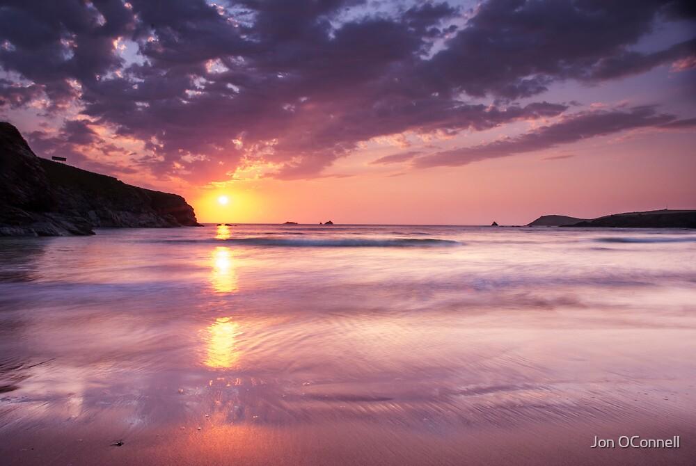 Trayarnon Bay Sunset by Jon OConnell