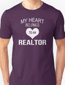My Heart Belongs To An Realtor - Tshirts & Accessories T-Shirt