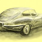 Jaguar E-Type by Steve's Fun Designs