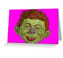 Alfred E. Newman Mad Magazine Culture Cloth Zinc Collection Greeting Card