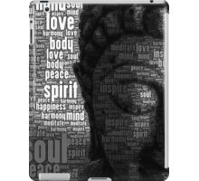 Buddha Words of Wisdom iPad Case/Skin