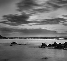 St Michaels Mount by Night by Jon OConnell