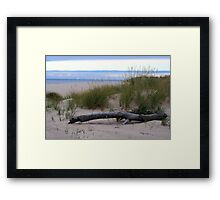 Fall on Lake Michigan Framed Print