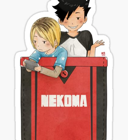 Pocket Kuroken Sticker