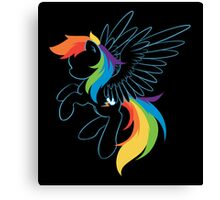 Colors of the Rainbow Canvas Print