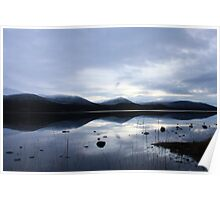 Sunset and Snow - Loch Morlich Poster