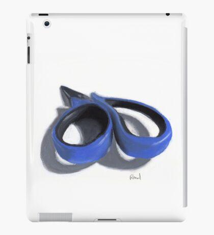 Painted scissors iPad Case/Skin