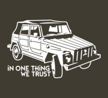 In one Thing we trust (white) by GET-THE-CAR