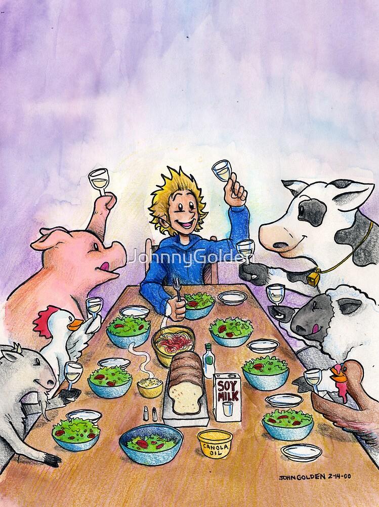Vegan Thanksgiving by JohnnyGolden