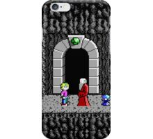 Commander Keen saving a Elder of the Oracle iPhone Case/Skin