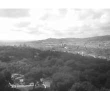 View Over Barcelona Photographic Print