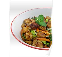 Sweet Chilli Chicken with Lime Poster