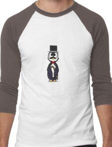 Dapper Penguin Men's Baseball ¾ T-Shirt