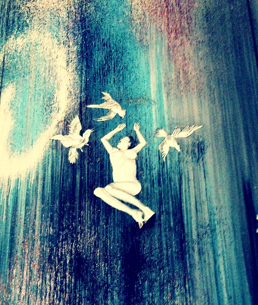 art on the streets by Leda D