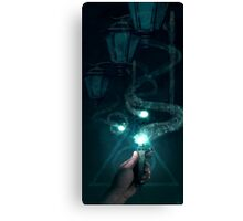 Harry Potter Ron and the Deluminator Canvas Print