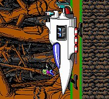 Commander Keen's Spaceship by ToucanFace