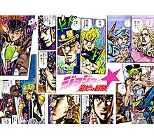 Jojo's Bizarre Adventure: Final Encounter Photographic Print