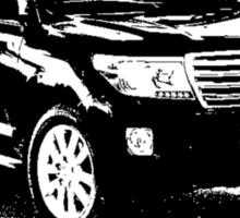 Toyota Land Cruiser 2013 Sticker