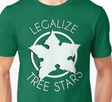 Legalize Tree Stars Unisex T-Shirt