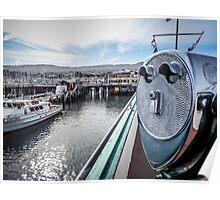 Fishermans Pier Monterey Poster