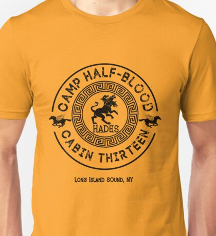 Percy Jackson - Camp Half-Blood - Cabin Thirteen - Hades Unisex T-Shirt