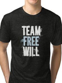 Team Free Will. Tri-blend T-Shirt