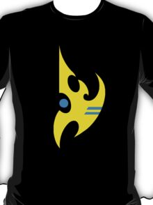 Yellow Protoss Insignia (with teal Psy) T-Shirt