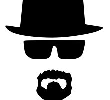Heisenberg Silhouette Design by Fresh Designs