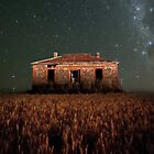 Burra North Ruin and Stars by pablosvista2