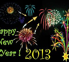Happy New Year 2013 by Jane Neill-Hancock