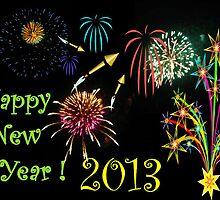 Happy New Year 2013 by Jane Neill-Hancock