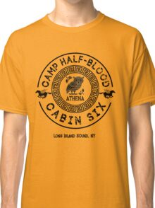 Percy Jackson - Camp Half-Blood - Cabin Six - Athena Classic T-Shirt