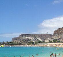 Canary Island Beach Sticker