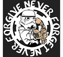 Never Forgive . Star Wars Photographic Print
