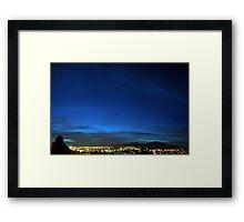 ©HCS Serenity Blue I Framed Print