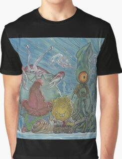 Sponge Robert Strange Pants and Friends Graphic T-Shirt