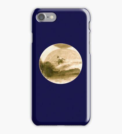 Surfer - Antiqued iPhone Case/Skin
