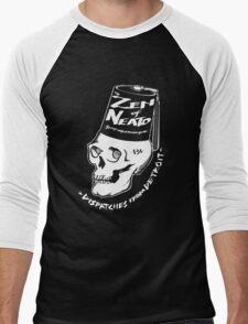 ZON Dispatches (white ink) Men's Baseball ¾ T-Shirt