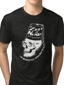 ZON Dispatches (white ink) Tri-blend T-Shirt