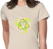 Psychedelic Alien - Light Womens Fitted T-Shirt