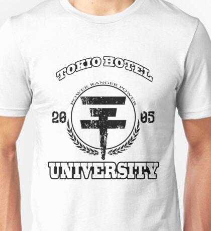 Tokio Hotel University | BLACK TEXT Unisex T-Shirt