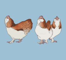 Three French Hens by nambroth