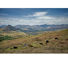 Lesotho Rancher Photographic Print