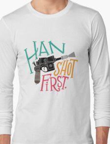Star Wars - Han Shot First Long Sleeve T-Shirt