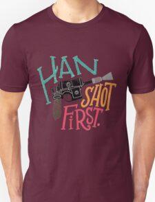 Star Wars - Han Shot First T-Shirt